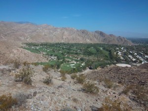 What a beautiful view of Palm Desert 9/2011