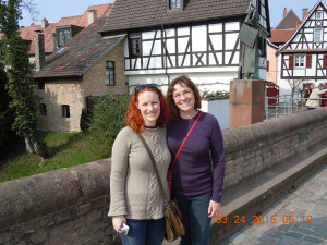My vacation in Germany 4/2015  with my daughter Katie
