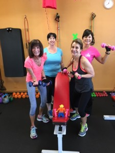 "Flat Stanley comes to ""OC Fitness Mama"", to workout."